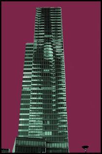 Popart II - Media Tower Köln von Andre Pizaro