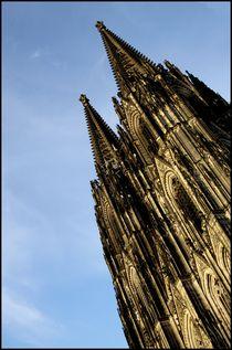 Kölner Dom - Cathedral Cologne von Andre Pizaro
