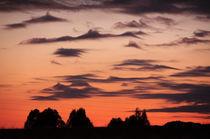 Roman sunset I von Julian Raphael Prante