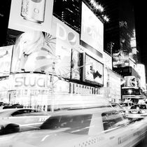 Times Square at Night by Frank Stettler