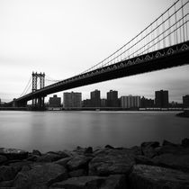 Manhattan Bridge by Frank Stettler