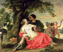 Venus and Adonis by A. Janssens