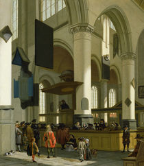 Interior of the Oude Kerk by A. Storck