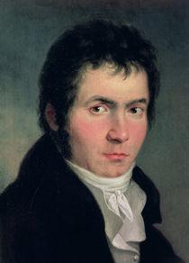 Ludwig van Beethoven  by Willibrord Joseph Mahler or Maehler