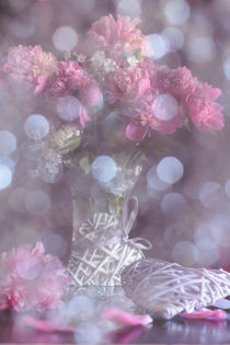 Flower Stories - peony by Iryna Mathes