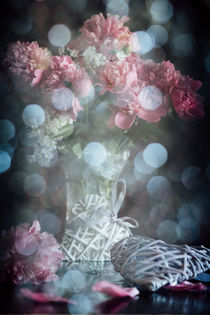 Peony - flower stories variation by Iryna Mathes