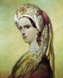 Portrait of Rachel  von Achille Deveria