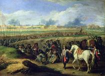 Louis XIV  by Adam Frans Van der Meulen