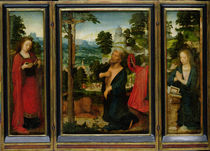 Triptych with St. Jerome by Adriaen Isenbrandt or Isenbrant