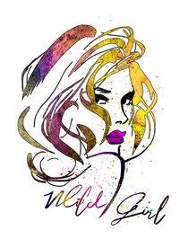 Wild Girl 02 von Miki de Goodaboom