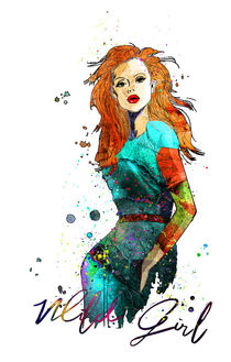 Wild Girl 07 von Miki de Goodaboom