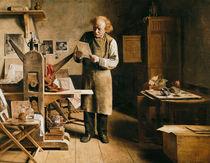 The Printer von Adrien Ferdinand de Braekeleer