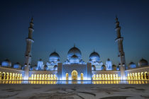 Zayed Moschee by Vincent Haaga