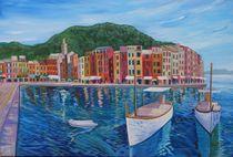 Portofino - Perle des Mittelmeers an der italienischen Riviera von M.  Bleichner
