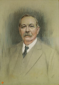 Portrait of Sir Arthur Conan Doyle  by William Henry Gates