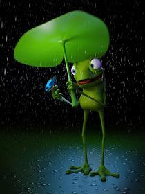 A friend on a rainy day. by Richard Rabassa