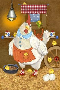 Mein lustiges Huhn Emma von Marion Krätschmer