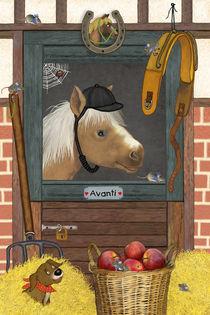 Mein lustiges Pferd Avanti von Marion Krätschmer
