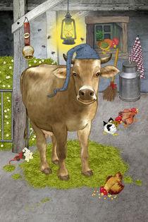 Meine lustige  Kuh Berta by Marion Krätschmer