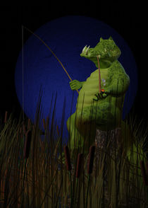 Fishing by Richard Rabassa