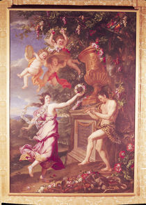 The Dance of a Nymph and a Satyr  von Alexandre Ubelesqui