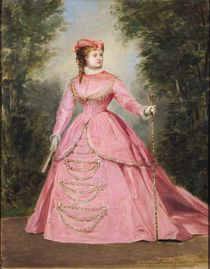 Hortense Schneider  by Alexis Joseph Perignon