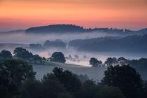 Morgenstimmung vor Sonnenaufgang von Yvonne Albe