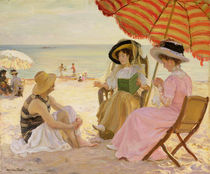 The Beach von Alfred Victor Fournier
