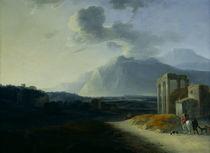 Landscape with Mount Stromboli  von Willem Schellinks