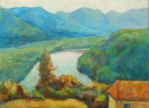 Drau Brücke by alfons niex