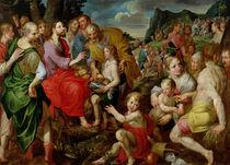 The Feeding of the Five Thousand  von Ambrosius the Elder Francken