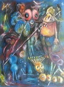 Krieger mit dem Speer by Karen Klingner