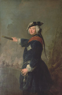 King Frederick II the Great of Prussia  by Antoine Pesne
