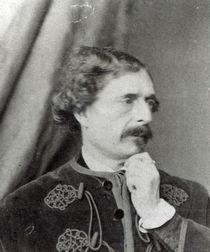 Portrait of Jules Barbey d'Aurevilly  von Antoine-Samuel Adam-Salomon