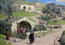 The Virgin Spring in Nazareth by Vasilij Dmitrievich Polenov