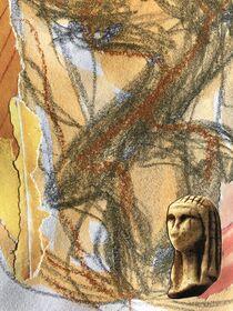 Weiblich orange von Doreen Trittel