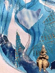 Weiblich blau von Doreen Trittel