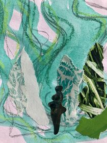 Weiblich grün von Doreen Trittel