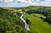 The River Wye At Symonds Yat by Ian Lewis