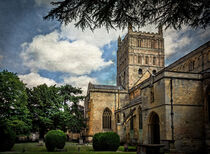 Tewkesbury Abbey by Ian Lewis