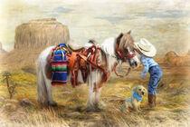Cowboy Up von Trudi Simmonds