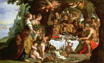 The Feast of Achelous by Artus Wollfort