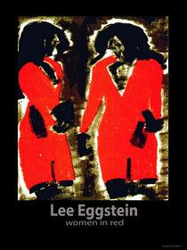 Frau in ROT von lee Eggstein