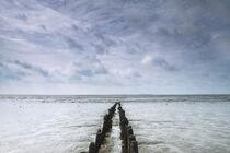 Wolken an der Nordsee von Rolf Müller