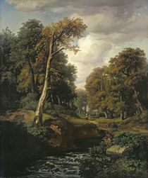 Landscape by August Weber