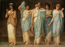 Ready for the Dance  by Augustus Jules Bouvier