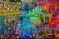 Oklahoma City Collage von Randi Grace Nilsberg