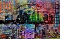 Boston Collage von Randi Grace Nilsberg