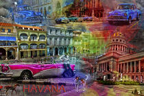 Havana Collage von Randi Grace Nilsberg