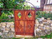 verrostete Tür von Heike Loos